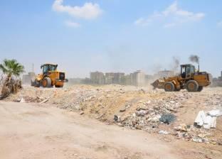 رفع 80 طن مخلفات في حملة بالجبل الأصفر في الخانكة
