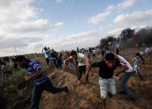 إصابة 10 فلسطينيين برصاص الاحتلال  على حدود قطاع غزة