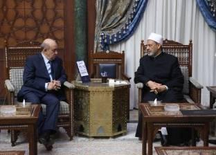 """شيخ الأزهر لـ""""الفاتيكان"""":مصر تفتح أبوابها لأتباع مختلف ديانات العالم"""