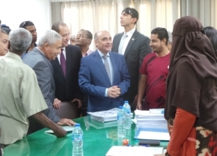وزير مجلس النواب يتفقد لجان المستحقين للتعويضات من أبناء النوبة