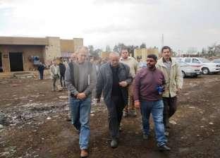 بالصور  وفد ألماني يزور كفر الشيخ لتدعيم قطاع تحسين البيئة ومصنع القمامةببيلا