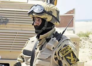 أحد أبطال الصاعقة: نلقى الرعب فى نفوس الإرهابيين.. وبقول للمصريين «اطمنوا وراكم رجالة»