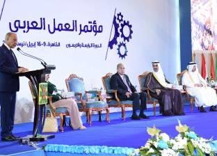 «إسماعيل»: حريصون على تطوير سوق العمل.. وقادرون على تنفيذ المشروعات العملاقة
