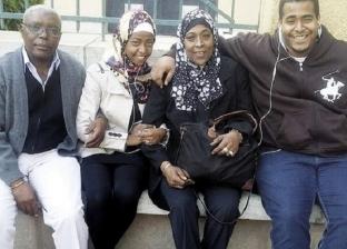الزوج من الكونغو والزوجة مصرية.. والأبناء مع «اللعبة الحلوة»