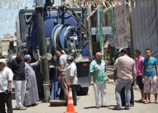 محافظ الإسماعيلية يتفقد أعمال صيانة شبكات الصرف الصحي بحي ثان