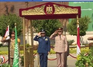 بالفيديو| رئيس الأركان يلتقي نظيره السعودي لمناقشة سبل التعاون