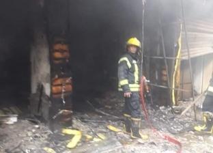 السيطرة على حريق نشب بمحلين لبيع الهواتف المحمولة في الفيوم