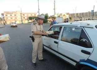 بالفيديو| سيولة مرورية بالقاهرة.. وكثافات أعلى الدائري لتصادم سيارتين