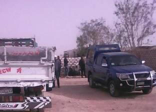 القوات الأمنية تشن حملة مكبرة وسط العريش