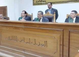 جنايات المنيا تنظر إعادة محاكمة 36 باقتحام قسم مطاي وقتل نائب المأمور