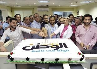«الوطن» تحتفل بمرور 5 سنوات على تأسيسها.. و«مسلّم» يشيد بأداء شباب الصحفيين ويصفهم بـ«الجيل الجديد»