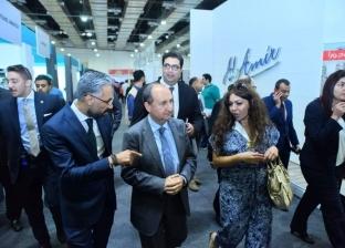 """وزير التجارة والصناعة يفتتح معرض التجارة والاستثمار """"المصري - الصيني"""""""