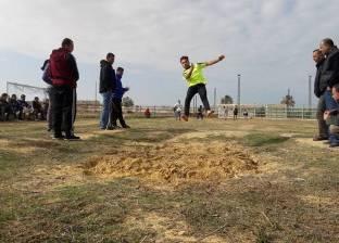 بدء مسابقة ألعاب القوى السنوية بمركز شباب الشيخ زويد في شمال سيناء