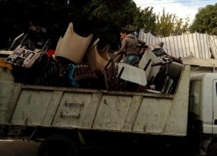 572 إزالة إدارية وتحرير 200 محضر خلال حملات إزالة المخالفات بالقاهرة