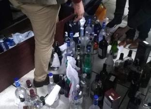 """""""التهرب الجمركي"""" تضبط مشروبات كحولية أجنبية غير خالصة الضرائب"""