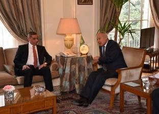 أبوالغيط يستقبل القطراني ويدعو إلى استكمال العملية السياسية في ليبيا