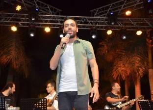 """رامي جمال يتألق فى حفل ألبومه """"ليالينا"""" وسط حضور جماهيرى كبير"""