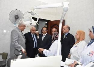 رئيس جامعة مدينة السادات يفتتح الإدارة الطبية بعد تطويرها