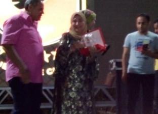"""النادي الأهلي يكرم فاطمة عيد: """"أنا أهلاوية أبا عن جد"""""""