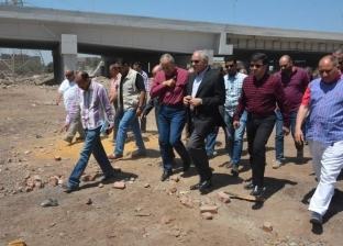 محافظ الجيزة يتابع أعمال رصف وتطوير طريق طراد النيل بـ33 مليون جنيه