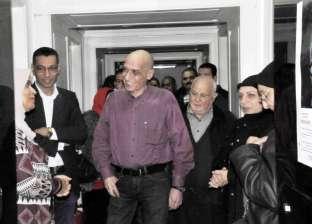 """خالد سرور يفتتح معرض """"من وحي الكلمات"""" بمشاركة 60 فنانا بمتحف أحمد شوقي"""