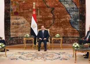 السيسي يستقبل رئيس مجلس النواب الليبي