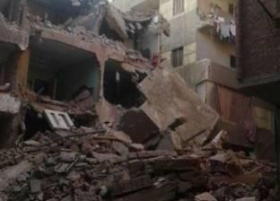 """رئيس حي شمال الجيزة: """"عقار إمبابة المنهار"""" كان خاليا من السكان"""