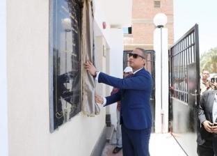 محافظ سوهاج يفتتح محطتي صرف صحي بتكلفة 30 مليون جنيه في جرجا