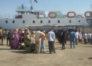 انتظام حركة الملاحة بميناء الإسكندرية بعد جنوح سفينة مالطية