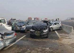 كثافات مرورية بمحور صلاح سالم بسبب حادث سير