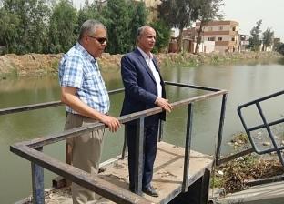 رئيس مصلحة الري يتفقد ترعة بورسعيد للتأكد من وصول المياه للمحافظة