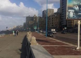 محافظة الإسكندرية: سقوط أمطار خفيفة وفقا لنماذج التنبؤ بالأمطار