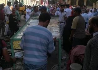 حي شرق الإسكندرية يشن حملة لرفع التعديات من الطريق العام