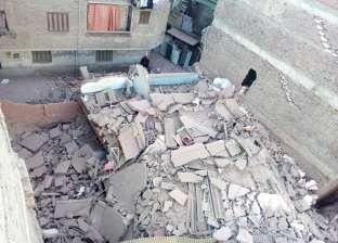 القبض على المتسبب في أعمال حفر أدت لانهيار عقار المطرية