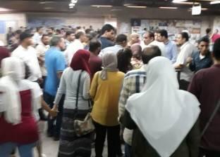 زحام بمحطات مترو الأنفاق والدفع بـ7 قطارات إضافية