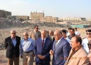محافظ القاهرة يتفقد أعمال الإزالة بمثلث ماسبيرو: رفع 75% من المخلفات