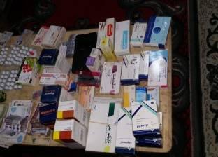"""""""صحة الدقهلية"""": ضبط أدوية مهربة ومنشطات جنسية في حملة على الصيدليات"""