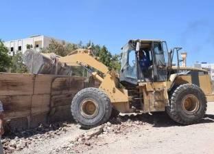 إزالة 52 حالة تعدٍ على أراضي أملاك الدولة بكفر الشيخ