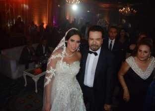 بالصور| نجوم الفن والإعلام في زفاف ابنة الفنان خالد عجاج