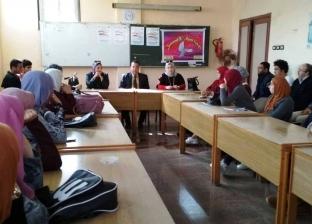 """""""النيل للإعلام"""" ينظم ورشة عمل لطلاب """"بنها"""""""