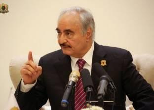 """خليفة حفتر يصل إلى باليرمو لحضور مؤتمر """"ملف ليبيا"""""""