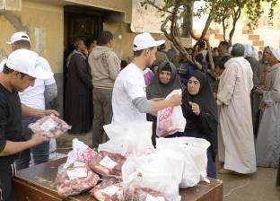 بالصور| أورمان كفر الشيخ توزع 50 ألف كيلو لحوم على الأسر المحتاجة