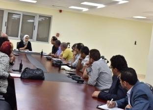 وزيرة الصحة تشدد على سرعة اعتماد مستشفيات منظومة التأمين الصحي الجديد