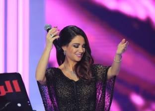 ديانا حداد تستعد للغناء في دار أوبرا جامعة مصر 19 فبراير