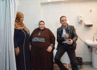 طارق علام يعرض مآساة فتاة تعاني من السمنة المفرطة وصل وزنها لـ182 كيلو