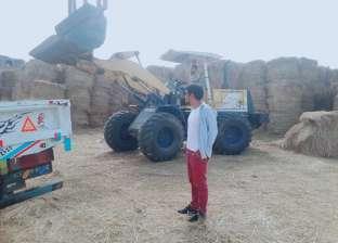 """""""أحمد"""" يتاجر في """"قش الأرز"""": """"الناس بتحرقه وأنا ببيعه"""""""