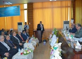 محافظ الغربية: نتعاون مع جامعة طنطا في دراسة وتخطيط المشروعات التنموية
