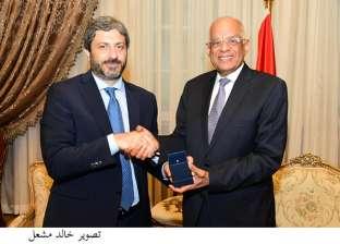 """رئيس البرلمان الإيطالي عن """"قضية ريجينى"""": راضون بمستوى التعاون مع مصر"""
