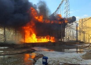 الرقابة الإدارية تفتش على مهمات محطة محولات كهرباء مطروح