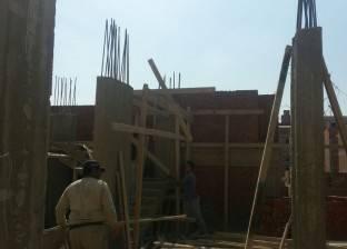 حملة لمواجهة البناء المخالف بحي المنتزه أول في الإسكندرية